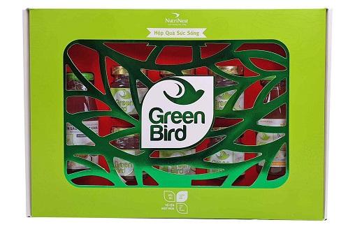 Nước Yến Green Bird – Hộp Qùa Sức Sống – Nutrinest
