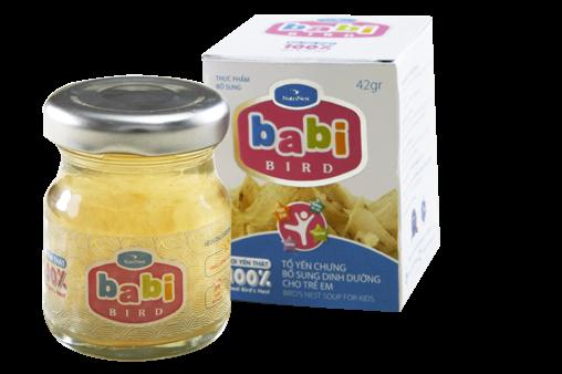 NutriNest - Súp yến trẻ em Babi Bird 42gr