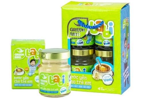 NUTRINEST - NƯỚC YẾN GREEN BABI TRẺ EM
