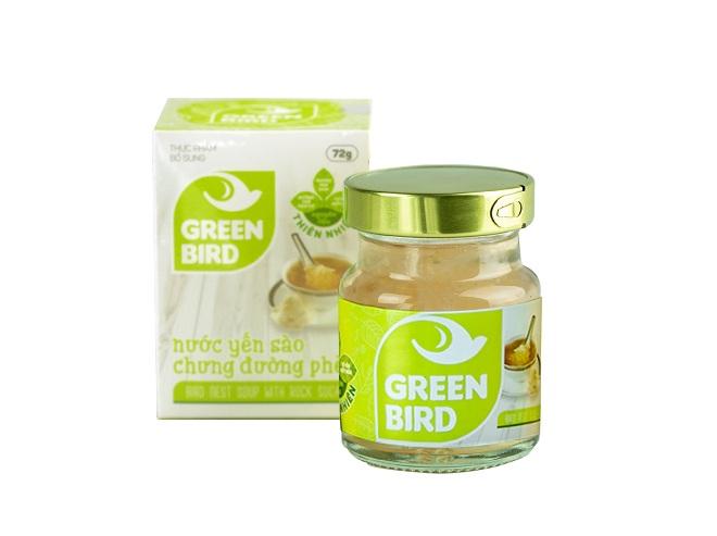Nutri Nest - Nước yến Green Bird 72gr