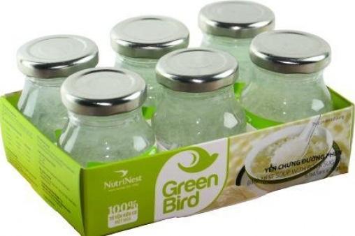 Nutri Nest - Nước yến Green Bird lốc 6 lọ