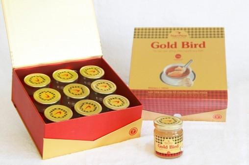 NutriNest - Súp yến nguyên tổ Gold Bird hộp quà 9 lọ