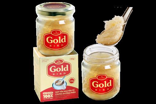 NutriNest - Súp yến nguyên tổ Gold Bird lọ 190gr