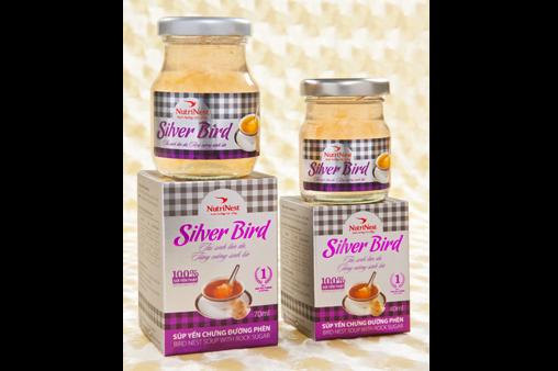 NutriNest - Súp yến Silver Bird lọ 75gr