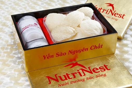 NutriNest – Tổ yến tinh chế nguyên tổ 100g